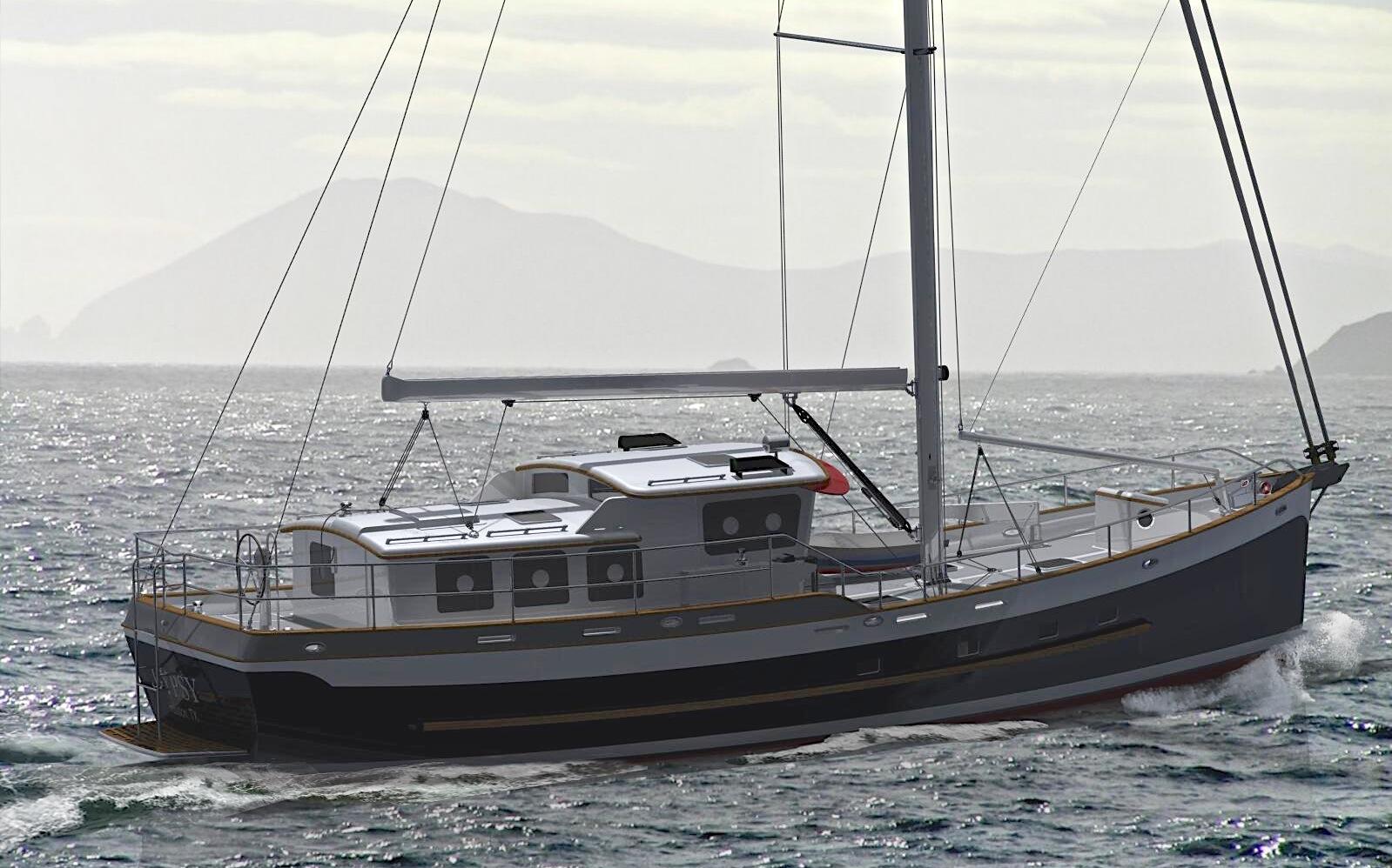 Motorsailer Boat Plans - PicsAnt